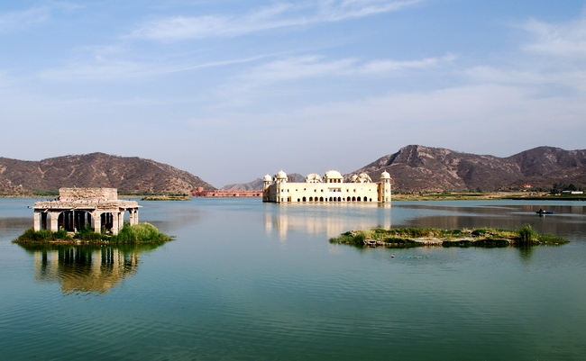 Photo - Jaipur, le Lake Palace