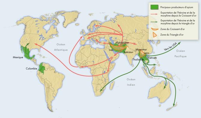 Afghanistan - La culture de l'opium