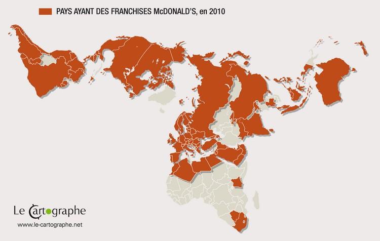 Carte Mcdonalds France.L Etat Mcdonald S Dans Le Monde