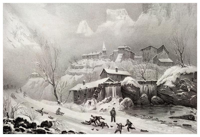Victor Cassien - Village de Choranche
